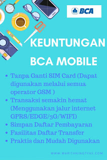 Keuntungan BCA Mobile