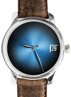 Montre Moser & Cie. Endeavour Calendrier Perpétuel Concept Funky Blue