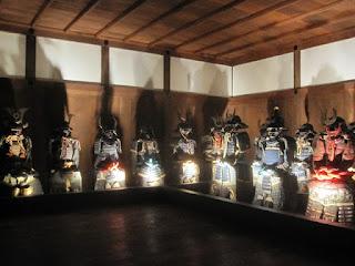 Armaduras legítimas en Himeji