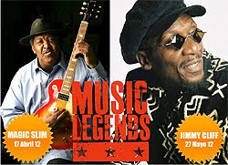 Magic Slim y Jimmy Cliff al Music Legends  de la BBK