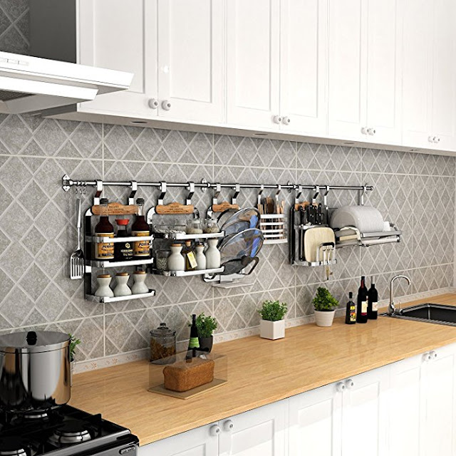 wall storage ideas for small kitchens