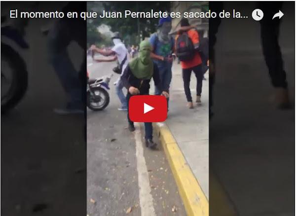 Aparece VIDEO de los últimos segundos de vida de Juan Pernalete