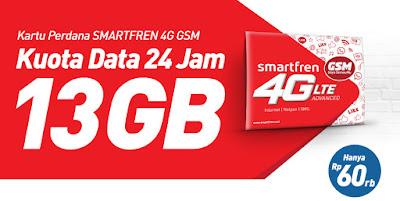 Cara Mendapat Bonus Kuota Smartfren 4G