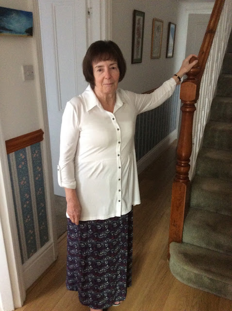 Ann 'Shopped the Look' - Imogen Shirt and Debbie Maxi Skirt