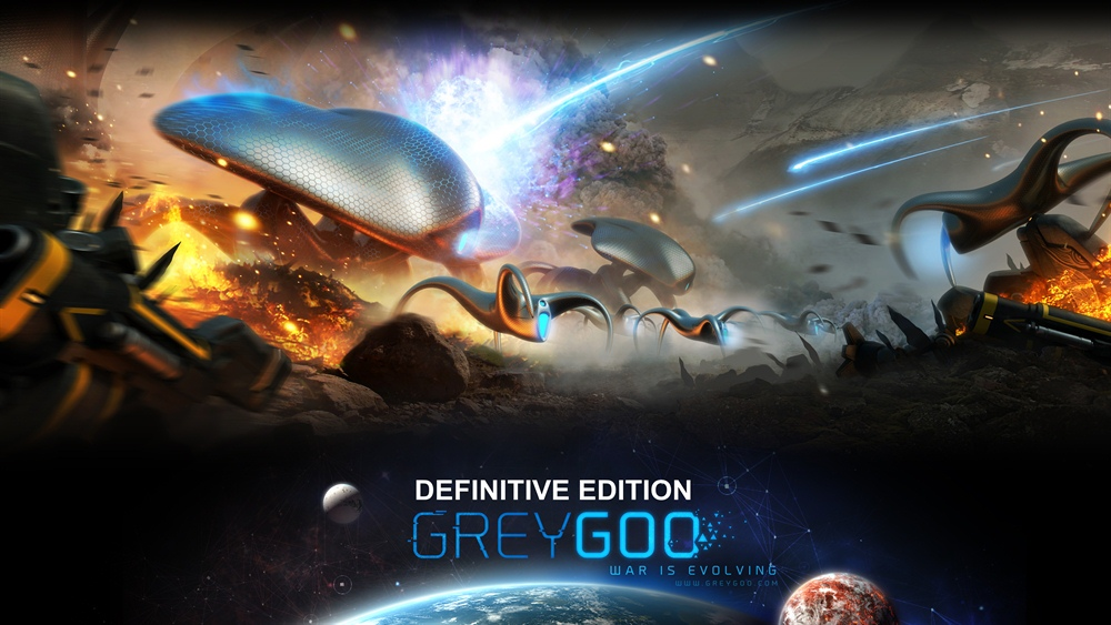 Grey Goo Definitive Edition Download Poster