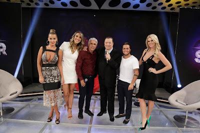 Lola, Ciça, Claudio, Raul, Thammy e Val (Crédito: Rodrigo Belentani/SBT)