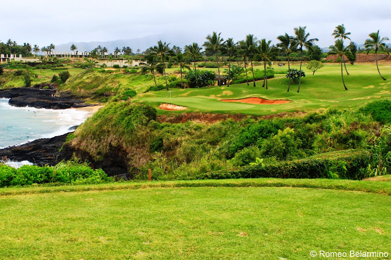 Kiele Moana Hole 5 Kauai Lagoons Golf Club Hawaii