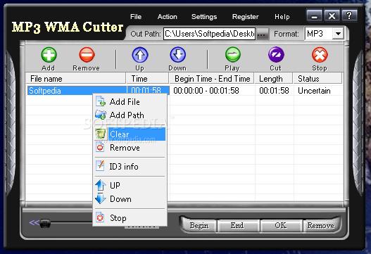 تحميل برنامج قص الاغاني مجانا للكمبيوتر Mp3 wma cutter