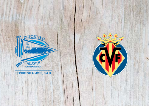 Deportivo Alaves vs Villarreal - Highlights 28 October 2018