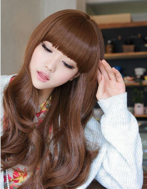 Korean Beauty Wig Korean Wig Fashion Long And Wavy