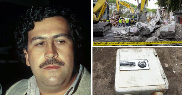 Encuentran caja fuerte en la antigua casa de Pablo Escobar en Miami ¡pero aun no la abren!