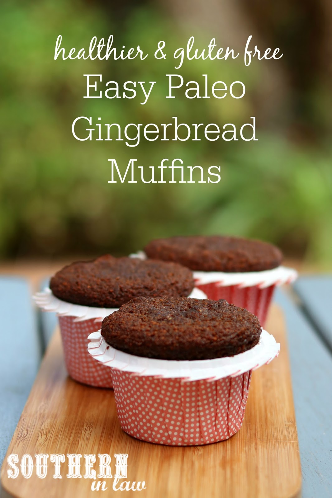 Southern In Law Recipe Easy One Bowl Paleo Gingerbread Muffins