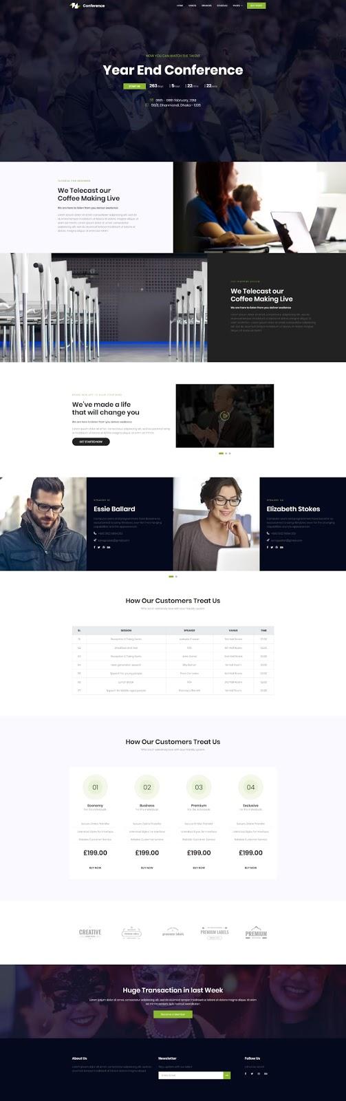 Event Management Registration CME Medical Website Design