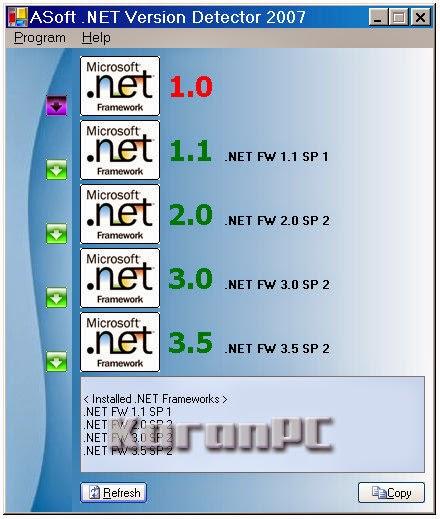 ASoft .NET Version Detector Free Download