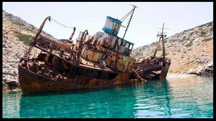 bangkai kapal bajak laut