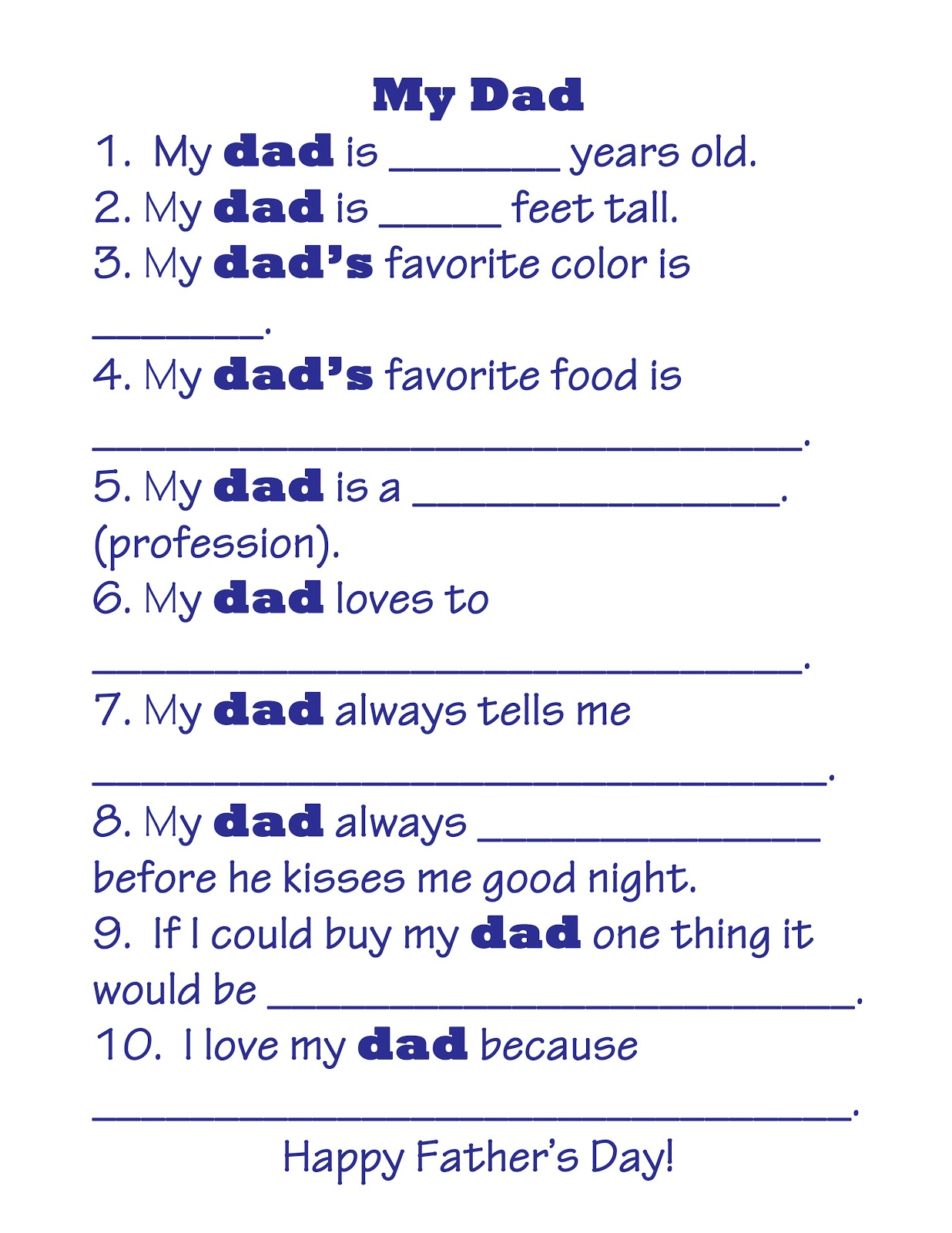Right Where We Are Father S Day Free Printable