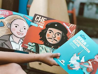 Libros antiprincesas Chirimbote