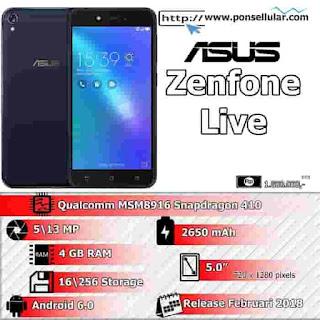 Cara Terbaru Flash Asus Zenfone Live ZB501KL via AFT