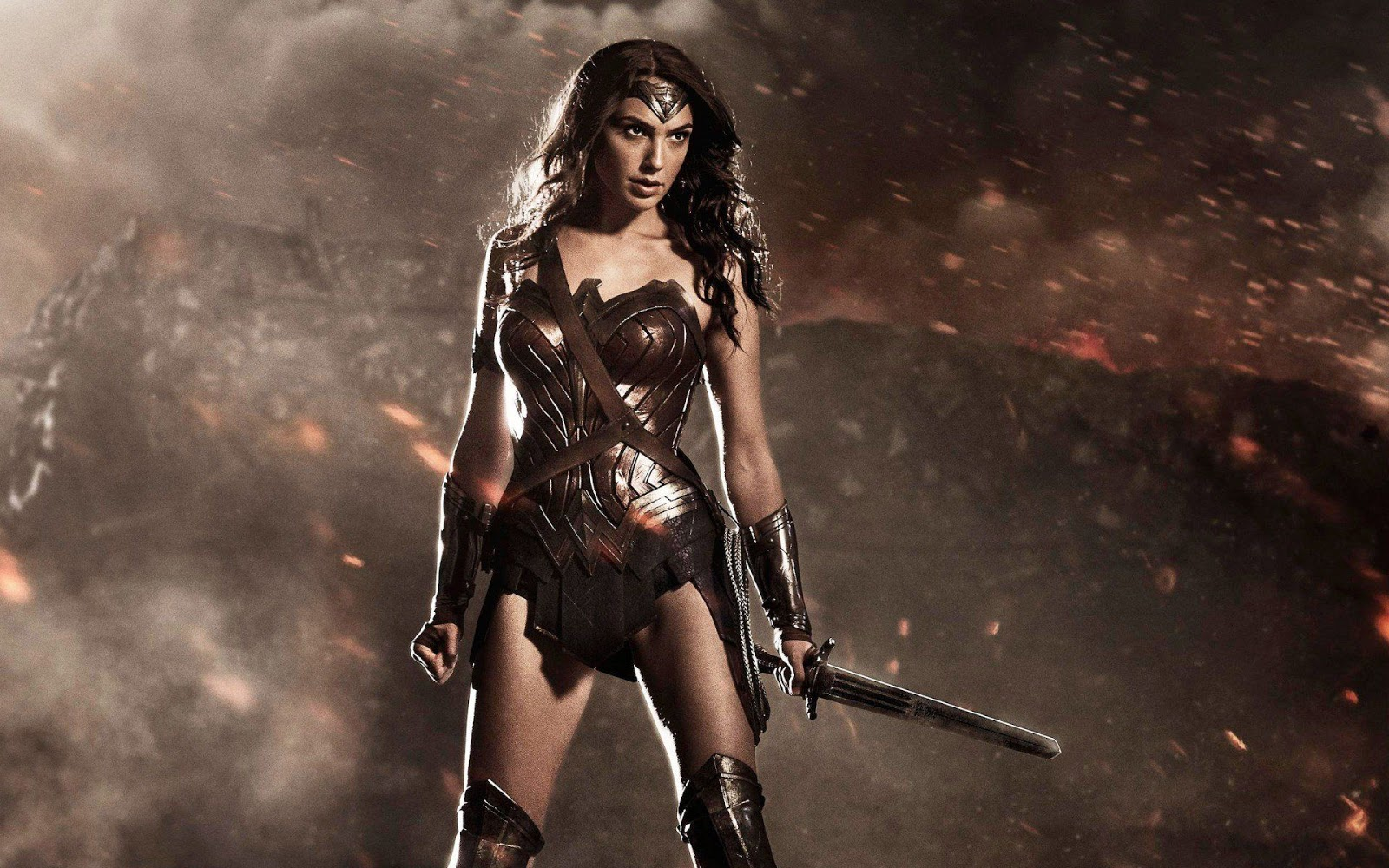 Wonder Woman In Dawn Of Justice