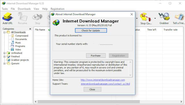 Internet Download Manager 6.33 Build 1