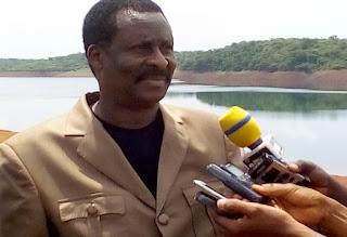 Société: Kindia, la visite de terrain du Ministre  de l'énergie et de l'hydraulique sur le site de Garafiri 1