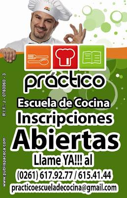 Práctico escuela de cocina invita a sus talleres y cursos en Maracaibo