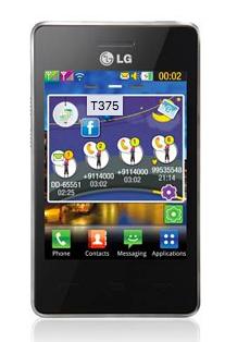 widgets lg t375