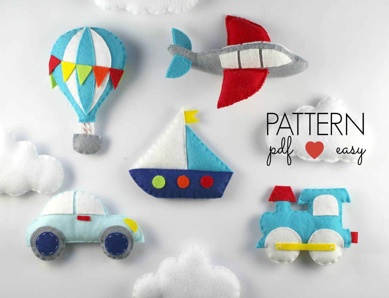 Diy transport baby mobile pattern for Baby boy mobile ideas