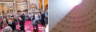 pantheon chuva petalas - Visita guiada em Roma: centro-histórico museal!