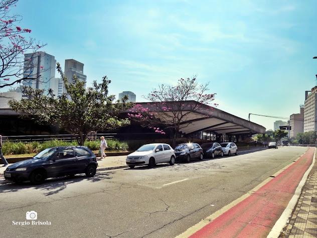 Vista ampla do Centro Cultural São Paulo - Liberdade - São Paulo
