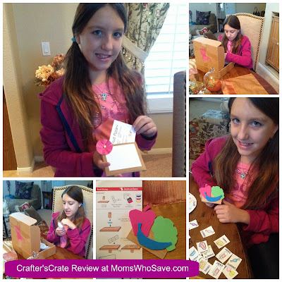 Crafter's Crate Subscription Box for Moms & Daughters -- Review & Discount
