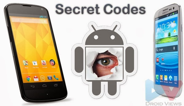 Secret Mobile Phone Codes Revealed ( For Android & Nokia