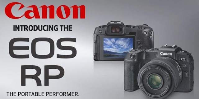 Canon's new compact mirrorless EOS RP and next generation RF lenses join full frame line-up at The Photography Show