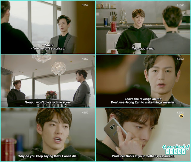 ji taek ask Joon Young to leave the revenge on him and die peacefully - Uncontrollably Fond - Episode 16 Review