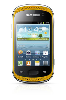 Samsung  Galaxy Music orange