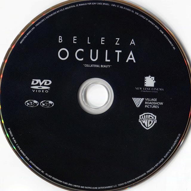 Label DVD Beleza Oculta