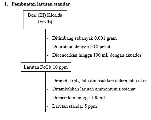 LAPORAN PENETAPAN KADAR Fe (BESI) DALAM SEDIAAN SECARA SPEKTROFOTOMETRI ATAU KOLORIMETRI MENGGUNAKAN METODE STANDAR ADISI