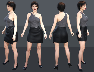 Wrap Style for Genesis 3 Female