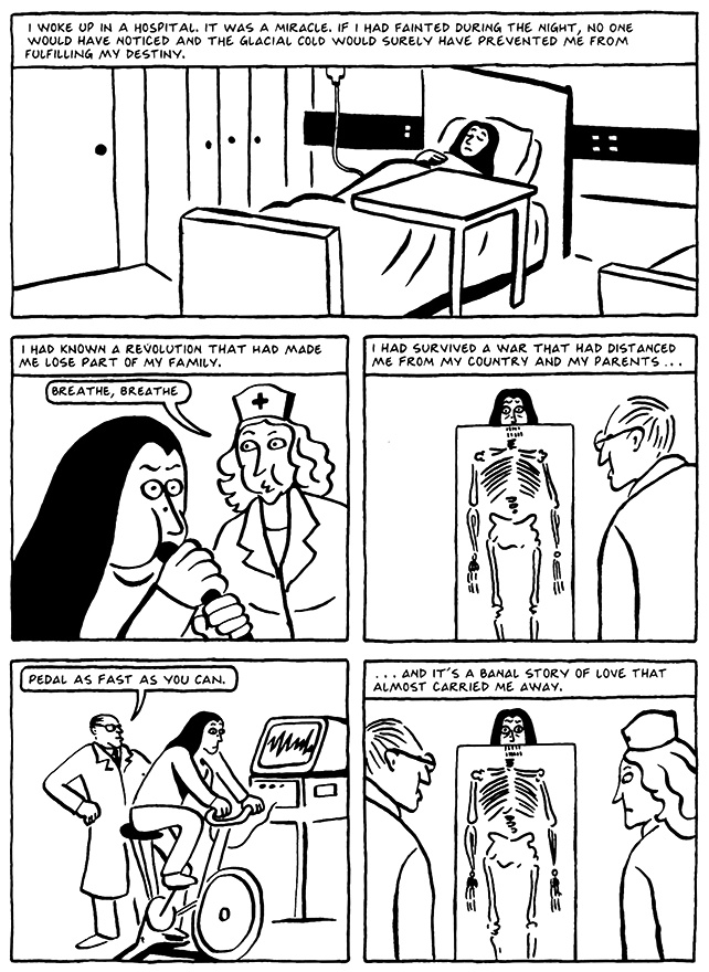 Read Chapter 9 - The Veil, page 87, from Marjane Satrapi's Persepolis 2 - The Story of a Return