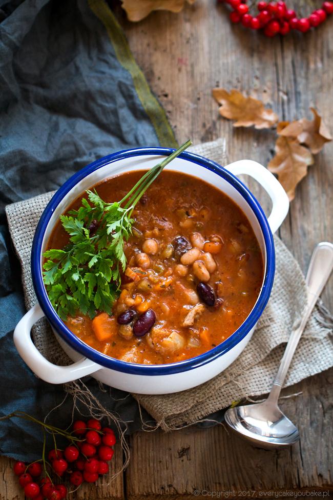 karmuszka - zupa gulaszowa z Warmii i Mazur