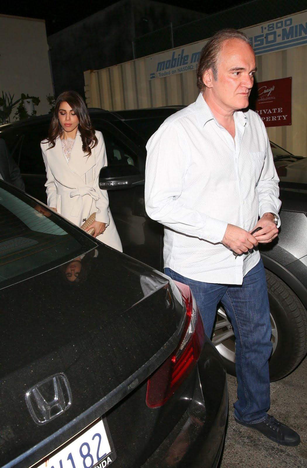 Quentin Tarantino enjoys a dinner date with Daniella Pick
