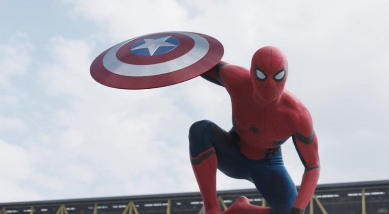 Spider-Man di Trailer Film Captain America Civil War Terbaru