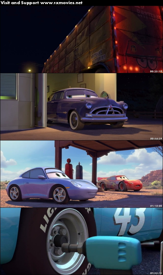 Cars 2006 Dual Audio Hindi 720p BluRay