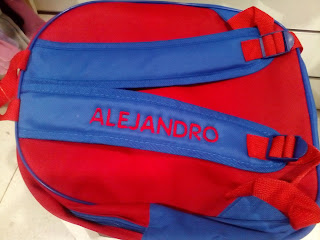 mochila 3D personalizada