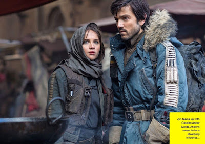 Photo of Diego Luna and Felicity Jones in Rogue One A Star Wars Story (28)