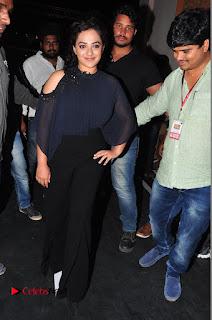 Nithya Menon Latest Stills at at Janatha Garage Movie Audio Launch  0039