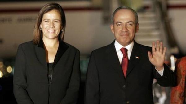 Calderón también renunciaría al PAN; 'a donde vaya Margarita yo iré'