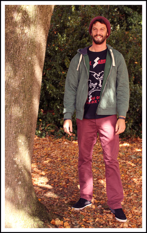 blogger boyfriend outfit post