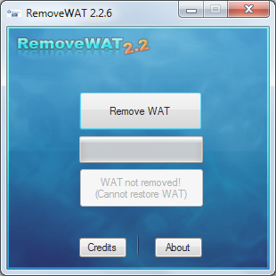 REMOVE WAT 2.2.6 - ACTIVA WINDOWS DE FORMA PERMANENTE