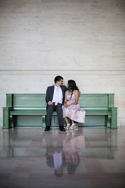 MIT campus wedding pictures